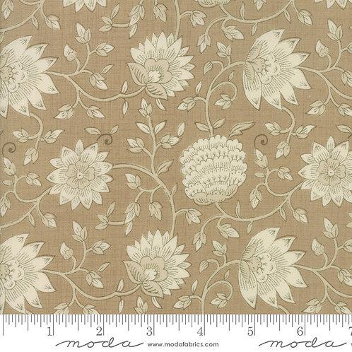 La Vie en Rouge 13822 17 Brown Floral Moda French General