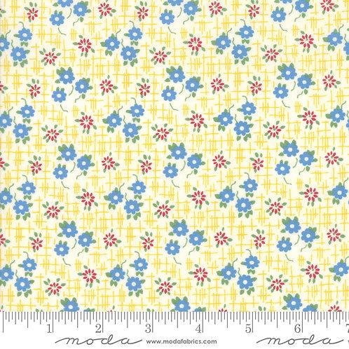Bubble Pop 21763 13 Yellow Floral Moda AMERICAN JANE