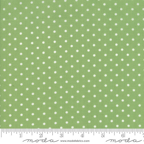 Good Tidings 18666 20 Green Dots Moda Brenda Riddle