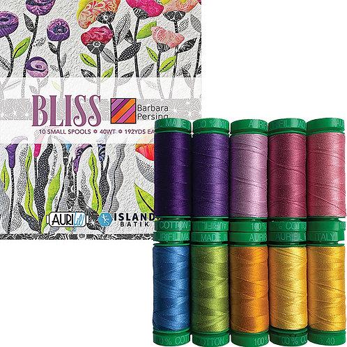 Aurifil Thread BLISS Barbara Persing 10 spools 40wt