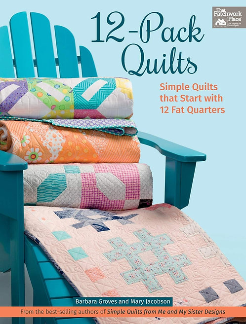 12 Pack Quilts 2   Book  Me &  My Sister