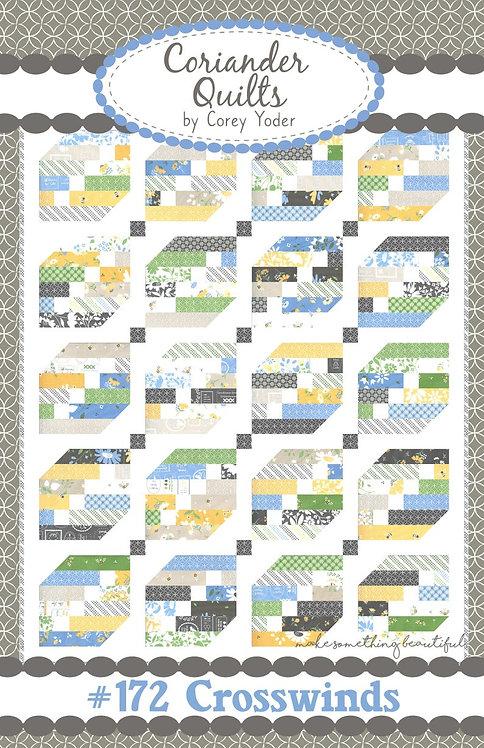 Coriander CROSSWINDS Jelly Roll Pattern