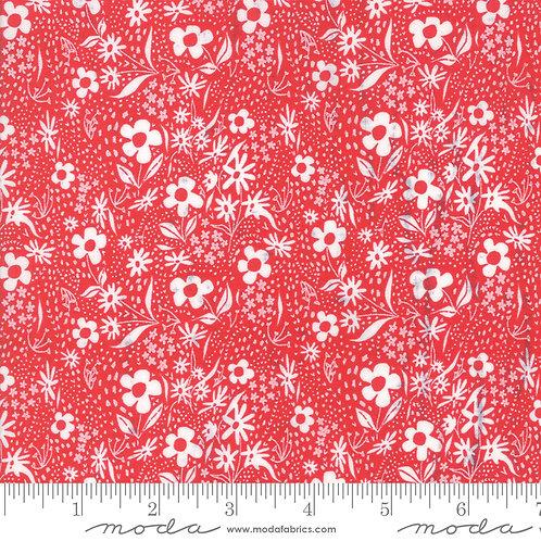 Farm Charm 48295 14 Red Floral Moda Gingiber
