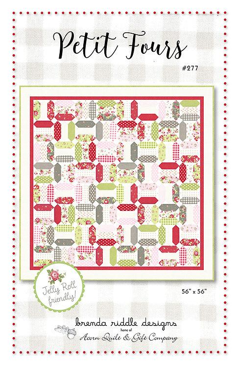 Brenda Riddle PETIT FOURS Jelly Roll Pattern