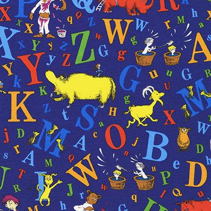 Dr Seuss ABC 74350 9 Navy Cat In The Hat Kaufman