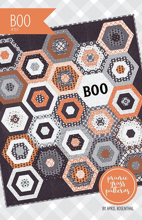 Prairie Grass BOO Jelly Roll Pattern