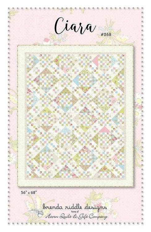 Brenda Riddle CIARA Layer Cake Quilt Pattern