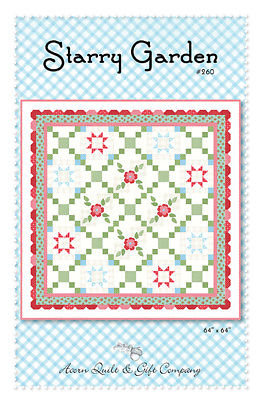 Brenda Riddle STARRY GARDEN Pattern