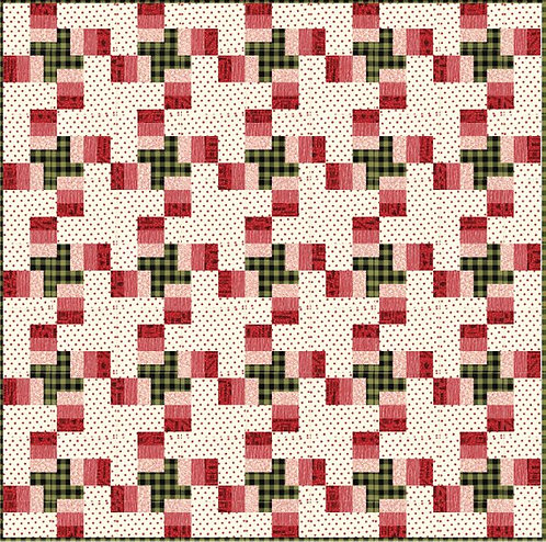 Sweetwater PLAID TIDINGS Christmas Quilt Pattern