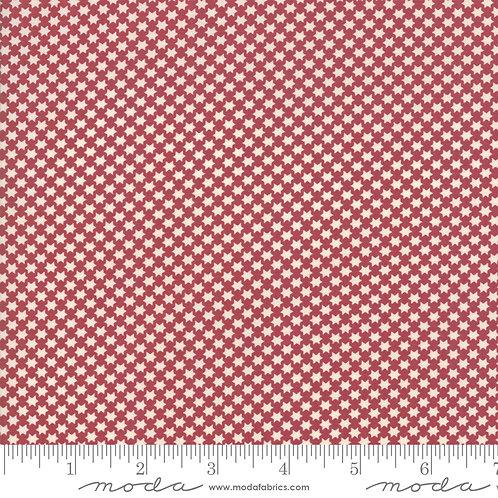 Fleur De Noel 13845 11 Red Rouge Moda French General Stars