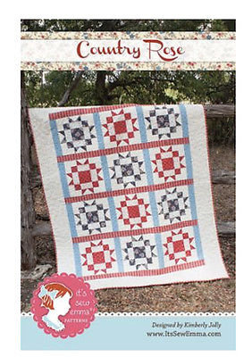 It's Sew Emma COUNTRY ROSE  Pattern