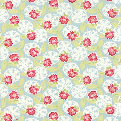 Ambleside 18601 13 Pink Blue Floral
