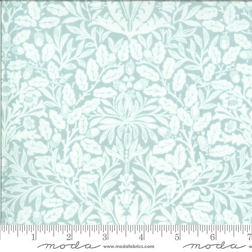 Dover 18701 17 Blue Damask B Riddle Moda