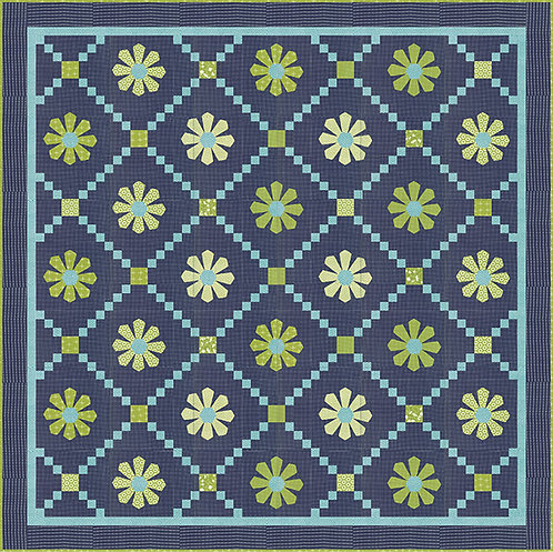 Sweetwater SUNDAY FLOWERS  Quilt Pattern