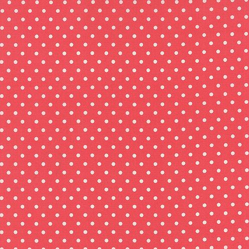 Bread n Butter 21697 23 Salmon Coral Dots Moda American Jane