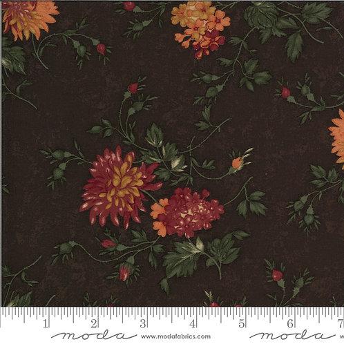 Bittersweet Lane 9640 18 Brown Floral Moda Kansas Trouble