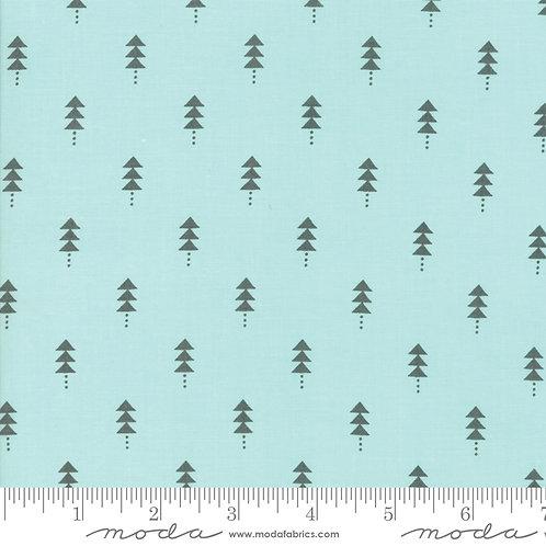 Little Tree 5094 16 Aqua Gray Trees Moda Lella Boutique