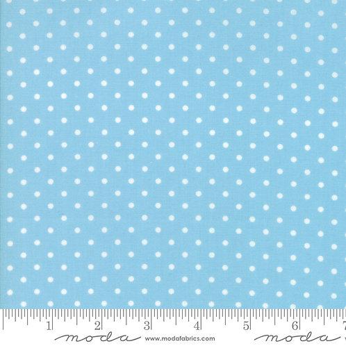 Good Tidings 18666 18 Blue Dots Moda Brenda Riddle