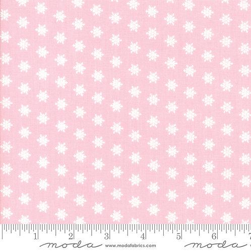 Merry Merry Snow Days 2946 15 Pink Tonal Moda BUNNY HILL