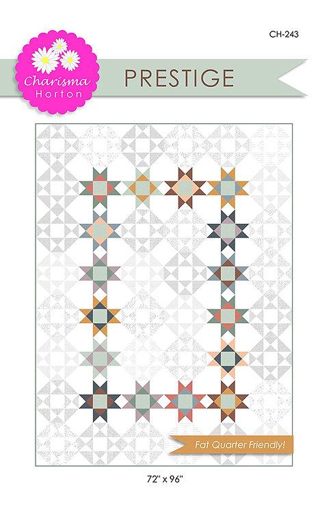 Charisma Horton PRESTIGE Fat Quarter Pattern