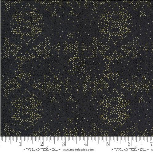 Dwell in Possibility 48317 23M Black Gold Metallic Moda Gingiber
