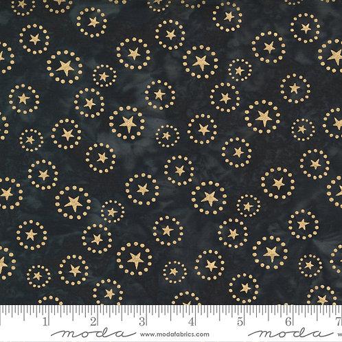 Felicity Batiks 27311 179M Black Gold Stars Moda Kate Spain