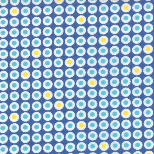 Sphere 1546 16 Blue Yellow Dots