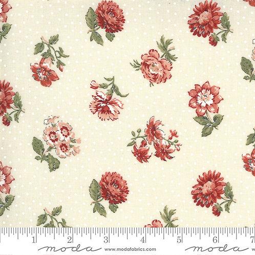 Jardin de Fleurs 13893 18 Pearl Floral Moda French General