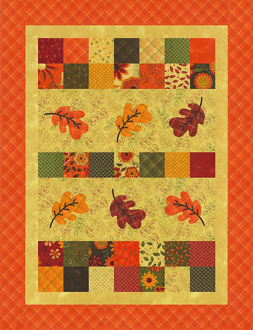 Pieces From my Heart FALL MELODY Table Runner Pattern