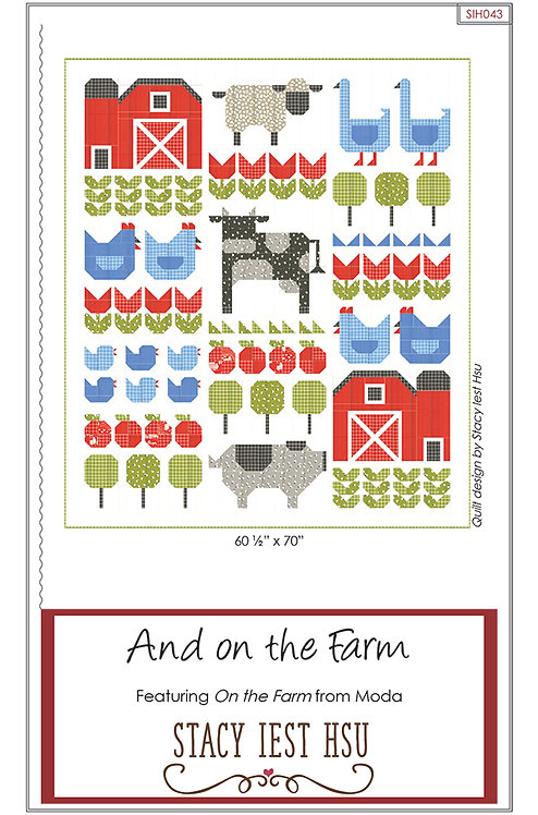 Stacy Iest Hsu AND ON THE FARM Pattern