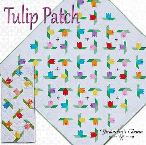 Yesterday's Charm TULIP PATCH Pattern & Tablerunner