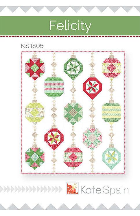 Kate Spain FELICITY Fat Eighths Pattern