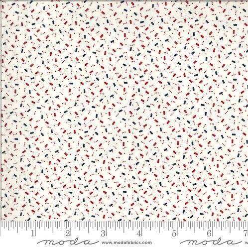 American Gathering 49127 11 White Confetti Moda Primitive Gath