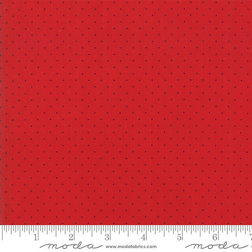 Sweet Harmony 21098 143 Red Pindots Moda American Jane