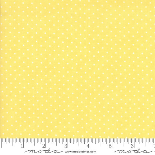 Essentially Yours 8654 20 Yellow White Dots Moda
