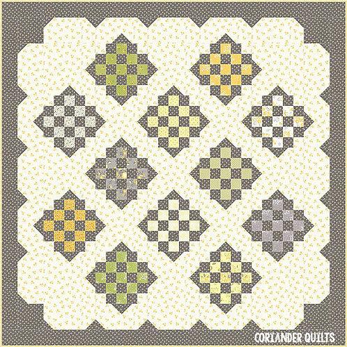 Coriander DAPPLED Pattern