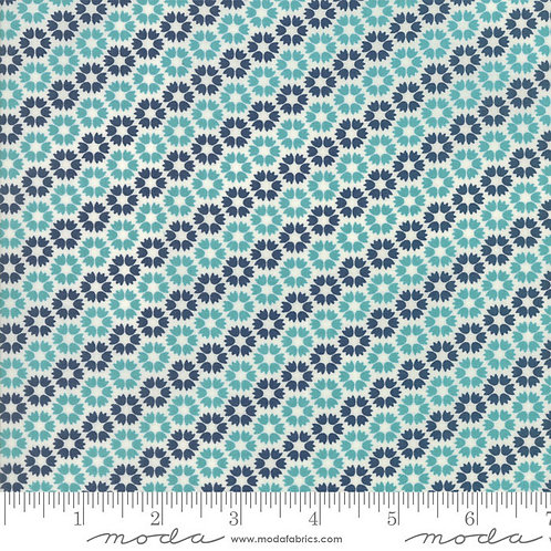 Sunday Supper 5654 24 Navy Teal Tonal Moda Sweetwater