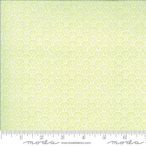 CHANTILLY 20344 15 Lime Green Sherbert Moda FIG TREE Tonal