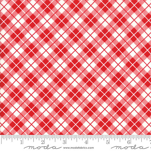 Orchard 24075 11 Red Check Plaid Moda April Rosenthal