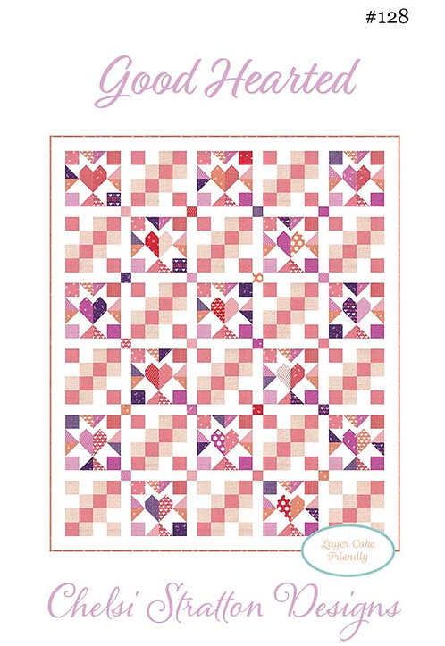 A Quilting Life GOOD HEARTED Layer Cake Pattern