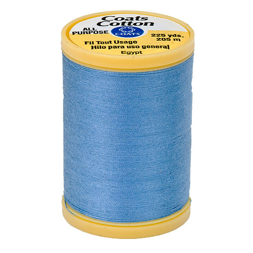 Coats & Clark Thread MED BLUE 3 spools 30wt
