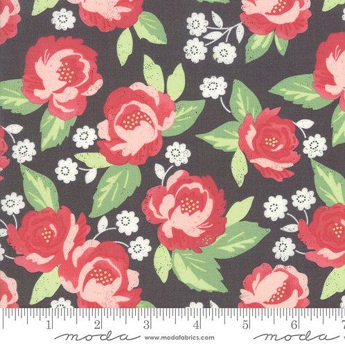 Bloomington 5110 13 Black Floral Moda Lella Boutique