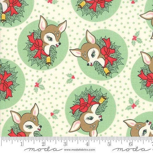 Deer Christmas 31161 23 Green Moda Urban Chicks