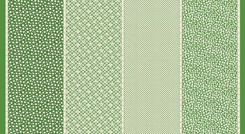 Bubble Pop 21760 14 Green 4 in 1 Moda American Jane