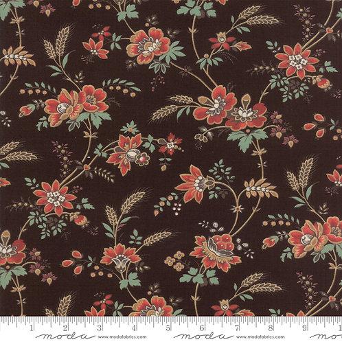 Purebred II 26122 19  Brown Floral