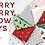 Thumbnail: Merry Merry Snow Days 2946 14 White Tonal Moda BUNNY HILL