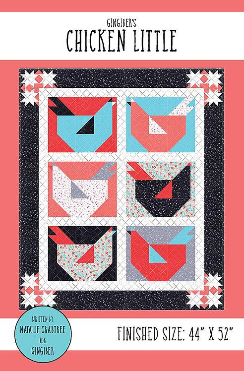 Gingiber CHICKEN LITTLE Quilt Pattern