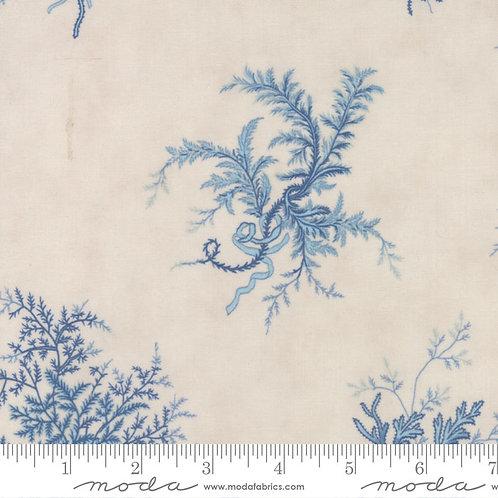 Grand Traverse Bay 14821 12 Beige Blue Floral