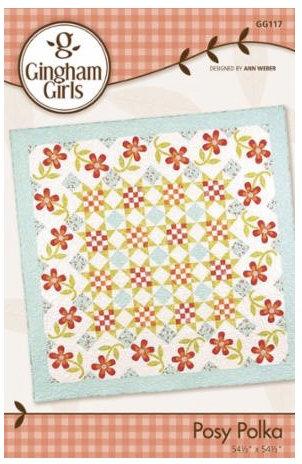 Gingham Girls POLKA POSEY Pattern