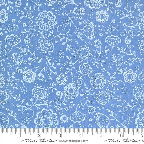 Cottage Bleu 48692 17 Sky Moda Robin Pickens